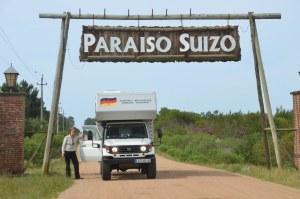 Paraiso Suizo östlich von Montevideo