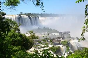Vielleicht die Hauptattraktion auf brasilianischer Seite: Der Steg zur Garganta do Diablo