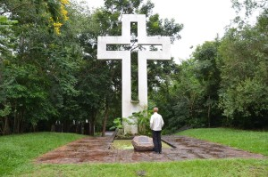 Gedenkstätte auf dem Schlachtfeld Cerro Corá