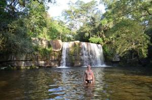 Wasserfall Salto Mina im Parque Nacional Ybycui