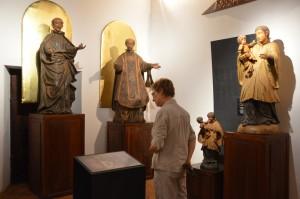 Im Jesuiten-Museum von Santa Maria de Fé