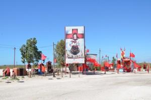 Gedenkstätte für Gauchito Gil an der RN3