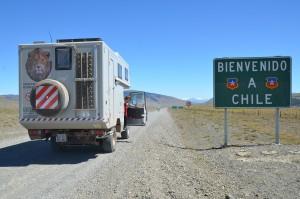 Grenzübertritt nach Chile