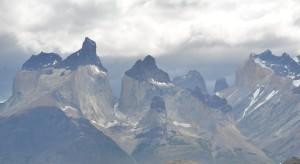 Die Cuernos del Paine sind inzwischen wolkenumhüllt