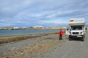 Im Hafen von Porvenir auf Feuerland