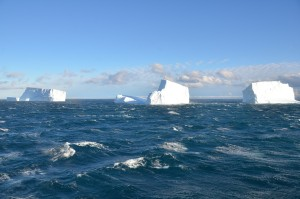 Imposante Eisberge