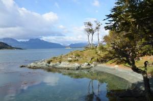 Ufer des Beagle-Kanals im Parque Nacional Tierra del Fuego