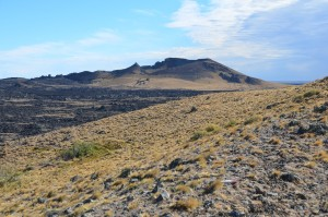 Vulkan Morada del Diablo (= Wohnung des Teufels) im Parque Nacional Pali Aike