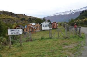 Typischer chilenisch-patagonischer Friedhof