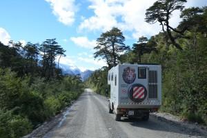 Im Parque Nacional Queulat