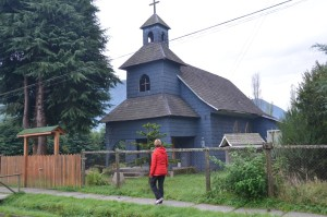 Kirche in Puyuhuapi