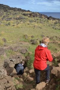 Eingang zur Höhle Ana Kakenga