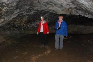 Im Höhleninnern