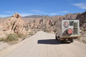 Auf der Ruta Cuarenta im Valle Calchaquíes nördlich von Cafayate