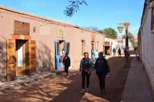 Straßenbild in San Pedro de Atacama
