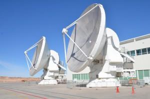 In Wartung befindliche Teleskope der Sternwarte ALMA