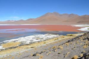 Blick vom Mirador auf der Nordseite der Laguna Colorada