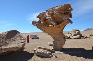 Arbol de Piedra, der Baum aus Stein