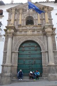Eingangsportal der Casa de la Moneda