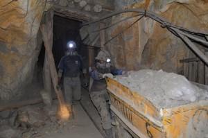 10 Loren sind das Standard-Tagespensum eines Mineros