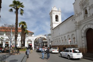 Kirche San Francisco in Sucre