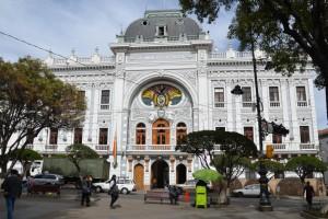 Ehemaliger Regierungspalast in Sucre