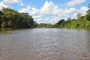 Auf dem Rio Ibaré