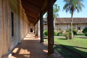 Innenhof der Reduktion San Xavier