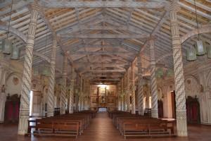 In der Kirche von San Xavier