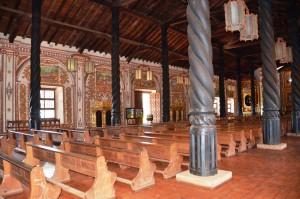 In der Kirche von Concepción
