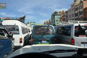 Verkehr in El Alto