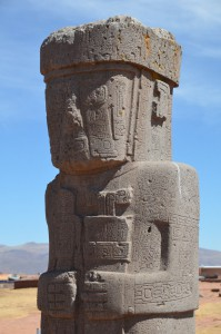 Ponce-Stele in Tiahuanaco