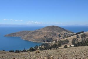 Beeindruckende Landschaft auf der Isla del Sol