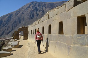 Ollantaytambo hat durchaus Ähnliches zu bieten wie Machu Picchu