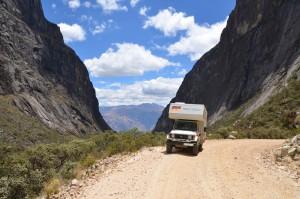 Im Parque Nacional Huarascán in der Cordillera Blanca