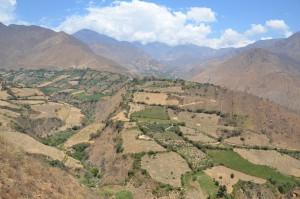 Westseite der Cordillera Negra