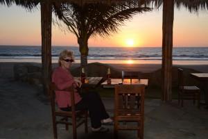 Sundowner am Strand von Colán