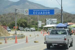 Grenze zu Ecuador