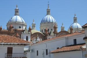 Kuppeln der Kathedrale von Cuenca