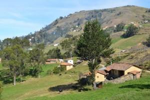 Landschaft bei Ingapirca
