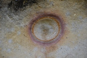 El Ojo del Sol, das Auge der Sonne, angeblich Auslöser für den Bau des Tempels