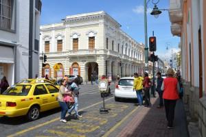 Straßenszene in Riobamba