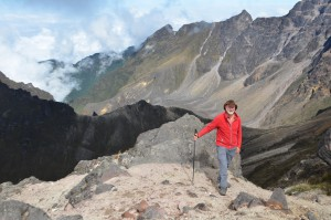 Am Kraterrand des Pichincha