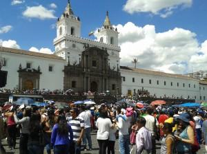 San Francisco im Zentrum von Quito