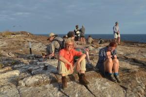 Müde und zufrieden nach einem langen Tag auf der Insel Genovesa