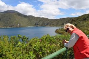 An der Laguna Cuicocha