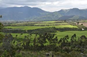 Landschaft an der Laguna Cuicocha