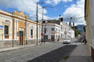 Kolonialbauten im Zentrum von Ibarra