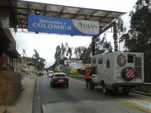 Einreise nach Kolumbien