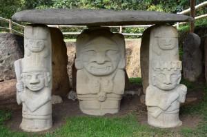 Grab im Parque Arqueológico in San Agustín
